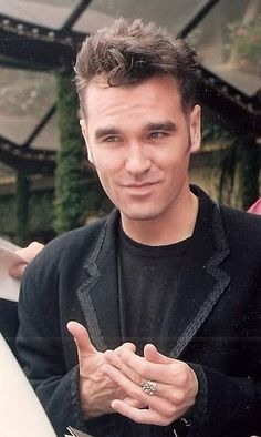 Image result for morrissey smile