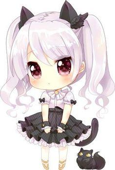"Search picture outcomes for ""manga kawaii chibi"" Chibi Kawaii, V Chibi, Loli Kawaii, Chibi Girl, Cute Anime Chibi, Kawaii Art, Manga Anime, Anime Art, Kawaii Drawings"