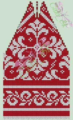 Fair Isle Knitting Patterns, Fair Isle Pattern, Crochet Patterns, Knit Crochet, Crochet Hats, Scandinavian Pattern, Wall Photos, Fiber Art, Mittens