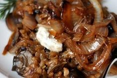 Mushroom Risotto with Caramelized Onions Recipe on Food52 recipe on Food52