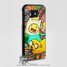 Adventure Time With Finn And Jake Samsung Galaxy S6 White Plastic Case