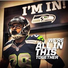 We're all in this together - including Earl Thomas! Go Hawks! Nfl Football Teams, Football Is Life, Best Football Team, Nfl Seattle, Seattle Seahawks, Earl Thomas, Nfc West, Seahawks Football, Getting Him Back