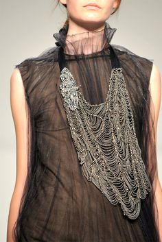 Large beaded necklace...nice!