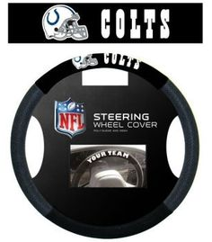 Indianapolis Colts Steering Wheel Cover - Mesh