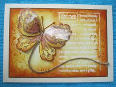 Acetate butterfly