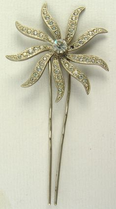 Antique Vintage Hair Comb Pin