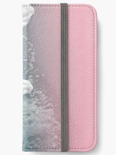 'Ocean Beauty ' iPhone Wallet by anitabellajantz Diy Wallet, Iphone Wallet Case, Iphone 6, Open Book, 6s Plus, Wall Art Decor, Adhesive, Tech, Ocean