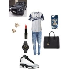 Untitled #29 by sneakerhead1500 on Polyvore featuring polyvore, fashion, style, Cameo Rose, Object Collectors Item, Yves Saint Laurent, Michael Kors, Kate Spade, Lord & Berry and Tom Ford
