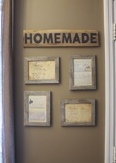 Vintage Kitchen - I love old things. Whether it be old barn wood, old fabric, old furniture, old country music or even old people; Slap the word vintage on th… Framed Recipes, Old Country Music, Old Country Decor, Cocinas Kitchen, Old Furniture, Kitchen Furniture, Furniture Ideas, Industrial Furniture, Bedroom Furniture