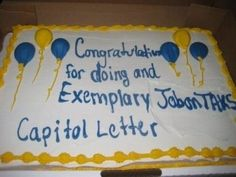 Epic Misspelled Cake