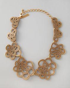http://nutweekly.com/oscar-de-la-renta-looped-lace-cluster-collar-necklace-p-1967.html