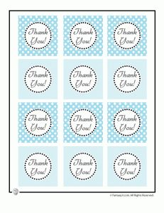 picture relating to Free Printable Baby Shower Thank You Tags known as Absolutely free Printable Youngster Shower Like Thank Yourself Tags - free of charge owl