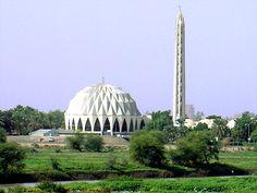 El Nilein mecset, Omdurman, Szudán