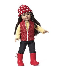 Think lilah is ready for a doll! Take a look at this Let It Snow 18'' Doll on zulily today!