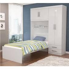 Resultado de imagem para duas camas no armario embutido