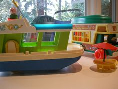 Fisher Price Little People Camping Toys