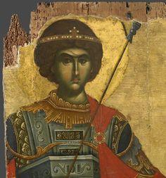 Monastery of Vatopedi, Agion Oros Russian Icons, Byzantine Icons, Saint George, Orthodox Icons, Christian Art, Illuminated Manuscript, Mona Lisa, Saints, Fine Art