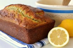 Lemon Poppy Seed Quick Bread from Food.com: Has a fresh lemony flavor that is cheerful and light.