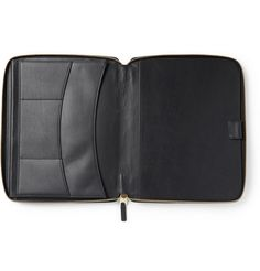 Smythson Cross-Grain Leather A5 Notepad Case