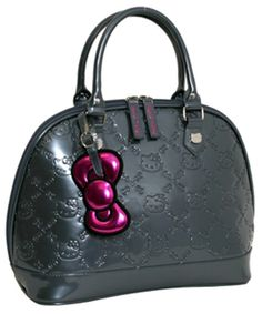80eb3663812b Loungefly Hello Kitty Grey Embossed Handbag Hello Kitty Bag