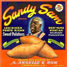 Coon Porto Rican Sweet Potatoes Country Farmers Sign