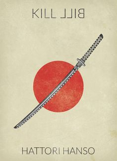 Kill Bill: Vol. 1 ~ Minimal Movie Poster by Baydle Creative Kill Bill: Vol.