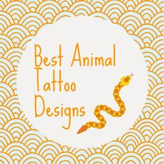 Are you looking for an epic tattoo? An epic tattoo inspired by animals. So here are the best animal tattoo designs that you will find on Pinterest.