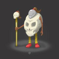 KRANE - Vanity, bones and skull ☠ illustrations and painting Crane, Skull Illustration, Skeletons, Skulls, Bones, Death, Creatures, Sugar, Painting