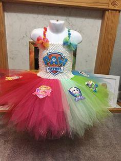 Paw Patrol Tutu Fancy Dress