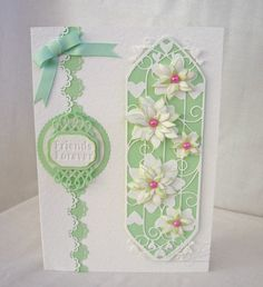 Another day, another card: Duo of Rose Lilies