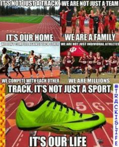 Best track and field quotes. Running Memes, Running Quotes, Sport Quotes, Running Tips, Funny Sports Quotes, Video Motivation, Running Motivation, Cross Country Running, Cross Country Quotes