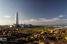 Seal Point Lighthouse in Cape St. Francis South Africa by Dirk-R. Please Like http://fb.me/go4photos and Follow @go4fotos Thank You. :-)