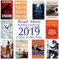 Read More Reading Challenge: A Book with a Color in the Title Jason Matthews, Zadie Smith, Purple Hibiscus, Red Sparrow, Chimamanda Ngozi Adichie, Military Coup, Reading Challenge, Save Her, Ghost Stories