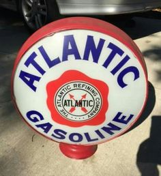 Original Atlantic Gas Globe