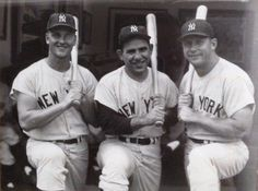 Marris, Berra, and Mantel. All three were chasing the home run record that year.