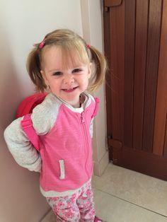 Izzy all ready for play school! My Eyes, Daughter, Play, School, Face, The Face, My Daughter, Faces, Daughters