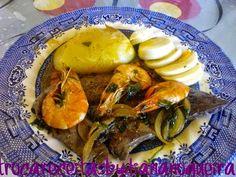 Troca Receitas By Diana Nogueira: Iscas de Cebolada com Camarão