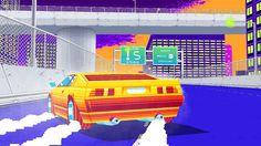 80s Miami car