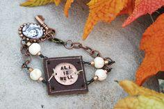 'all is well' bracelet
