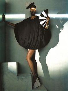 Tyra BanksI Vogue