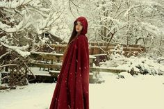 Pretty little red riding hood