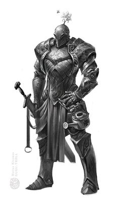 Knight, Marina Kleyman on ArtStation at http://www.artstation.com/artwork/knight-277346a3-a38b-431e-962c-79c7c880d7d5