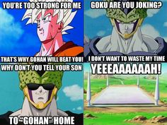 Dragon Ball Z puns