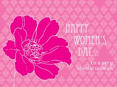 Happy Women's Day... to a very special woman