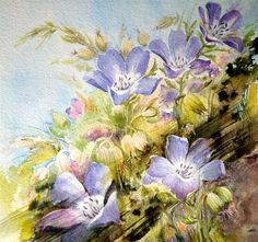 Moudru Marie-Claire - Floral Paintings by Marie Claire Moudru  <3 <3