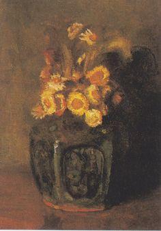 Van Gogh - Ingwertopf mit Chrysantemen, 1886
