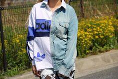 Coming soon ... //  #aktund#retro#fashion#usedclothing#deadstock#vintage#oldskool#80s#90s#sports#classic#dope#skate#girls#street#hiphop#dance#adidas#remake#sweat#アシンメトリー#オリジナル#古着#リメイク#アディダス  AKTUND  http://www.aktund88.com