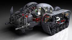 batmobile - Dark Knight Returns Batman Redesign, Im Batman, Batman Stuff, Super Cool Stuff, Dark Knight Returns, Hq Dc, Batman Batmobile, Superhero Design, Batman Universe