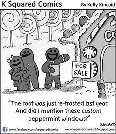 Real Estate Cartoons Comics | funny real estate christmas Funny Real Estate: Christmas Edition