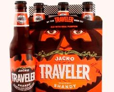 The Traveler Beer Co.'s Jack-O Traveler Shandy #Beer